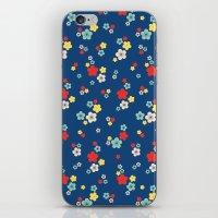 Blossom Ditsy In Monaco … iPhone & iPod Skin