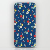 Blossom Ditsy In Monaco … iPhone & iPod Skin
