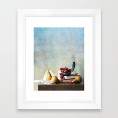 Autumn Pleasures Framed Art Print
