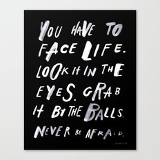 FACELIFE Canvas Print