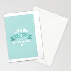 Paper Crown Stationery Cards