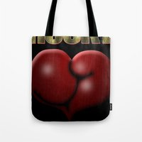 He Beat Them with Heart, Not Muscle - Rocky Tote Bag