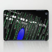 Blue Pill iPad Case