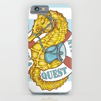 iPhone & iPod Case featuring Seaquestrian by Armani jane