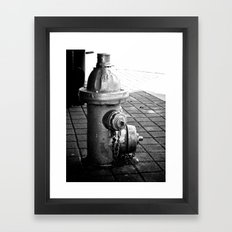 Dog's Best Friend Framed Art Print