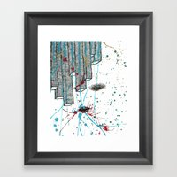Right Side Up Framed Art Print