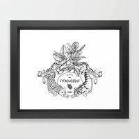 Leo & Tiger Framed Art Print
