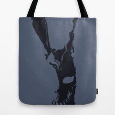 Why are you wearing that stupid man suit? Tote Bag