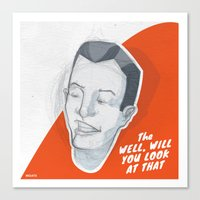 Well, Will You Look At T… Canvas Print