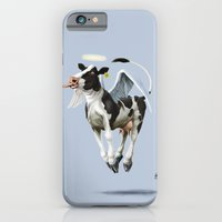 Holy Cow (colour) iPhone 6 Slim Case