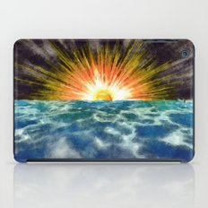 Sunset Over Water iPad Case