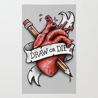 Draw Or Die Rug