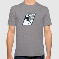 Regrets, Memories, Reminisces Mens Fitted Tee Tri-Grey SMALL