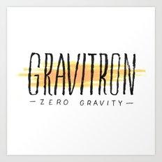 Gravitron Art Print