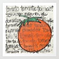 Toma Tomate Art Print