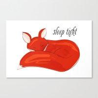 Sleep Tight Canvas Print