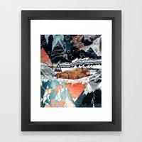 Seconds Behind Framed Art Print