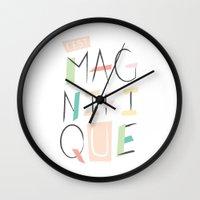 C'est Magnifique Wall Clock