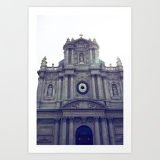 Eglise Saint Paul, Le Marais, Paris Art Print