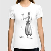 #9 Womens Fitted Tee White SMALL