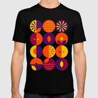 Berries  Mens Fitted Tee Black SMALL