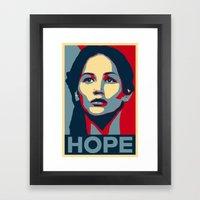 Hunger Games - Hope Framed Art Print