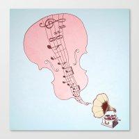 musical moment II  Canvas Print