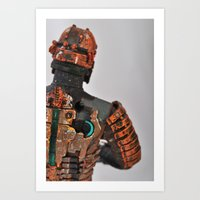 Clarke Art Print