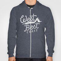 West Coast Is The Best C… Hoody