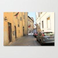 Italian Street 1 Canvas Print