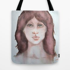 Watercolor smile Tote Bag