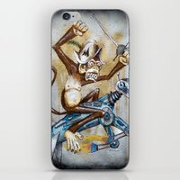 Paul's Monkey iPhone & iPod Skin