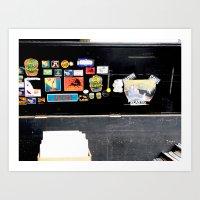 London Flea Market Art Print