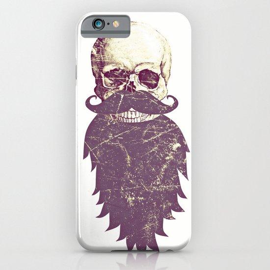 Beard Skull 3 iPhone & iPod Case