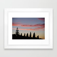 I Caught My Breath Framed Art Print