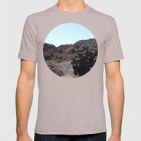 Lava Mens Fitted Tee Cinder SMALL