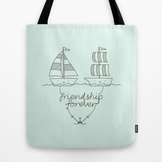 Friendship forever Tote Bag
