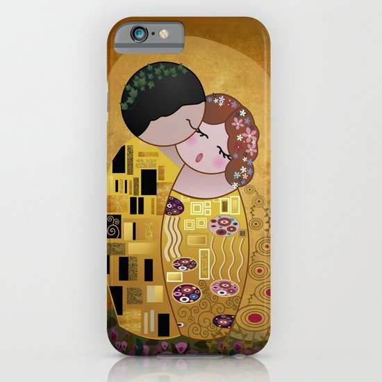 Kokeshi The Kiss iPhone & iPod Case