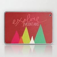 Explore Mountains Laptop & iPad Skin