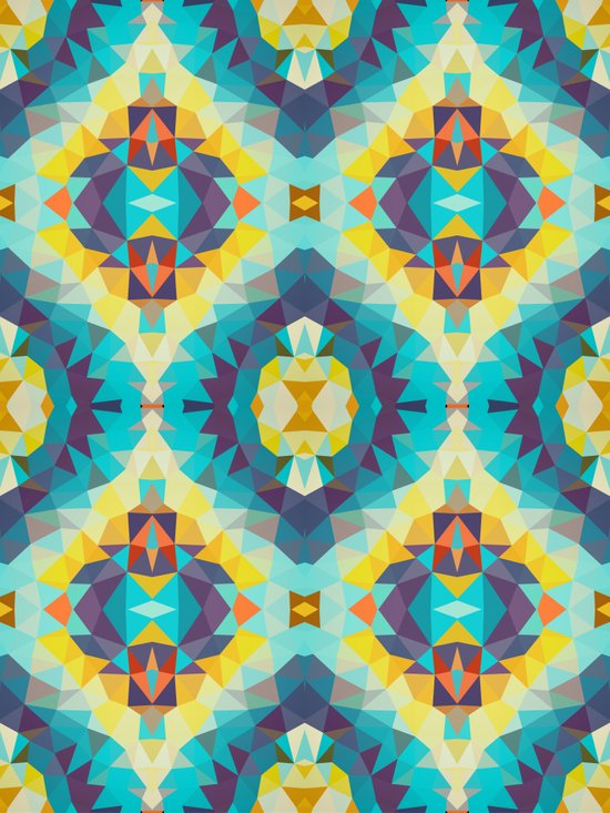 Coral Reef Tribal Art Print