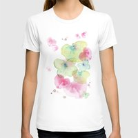 Butterfly Effect 2 Womens Fitted Tee White SMALL