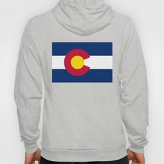 Colorado State Flag - Authentic version Hoody