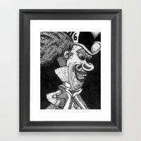 Mad Hatter HiDef Framed Art Print