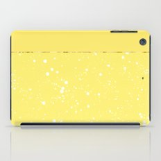 XVI - Yellow iPad Case