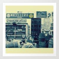 Macelleria Art Print