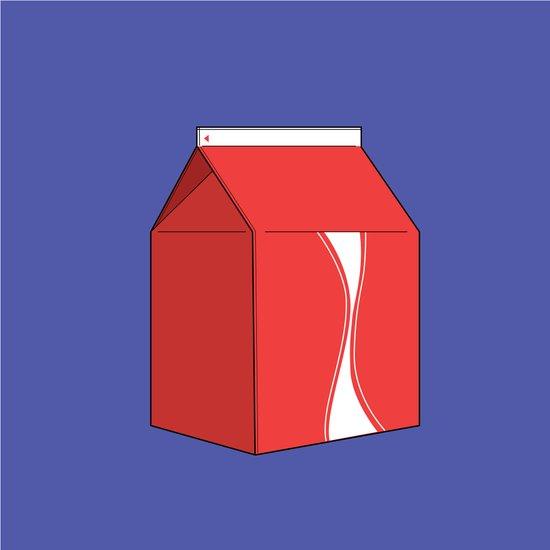 Coke in a box Canvas Print
