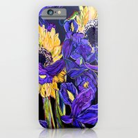 Sunflower & Iris iPhone 6 Slim Case