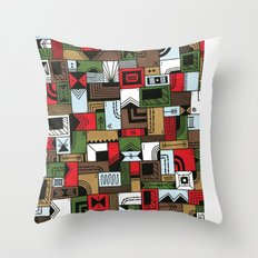 Not Home Alone Throw Pillow