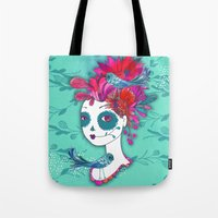 Day Of The Dead Dreamer Tote Bag