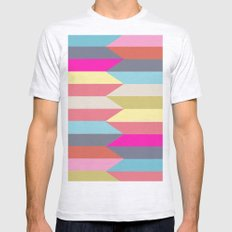 colorful confusion Mens Fitted Tee Ash Grey SMALL